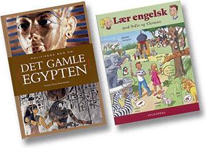 Lærebøger og fagbøger med illustrationer af Sussi Bech
