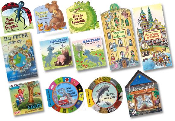 Børnebøger - Papbøger for børn af Sussi Bech