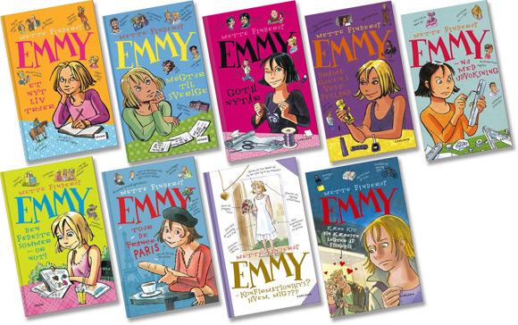 Børnebøger - Emmy af Mette Finderup, illustreret af Sussi Bech.