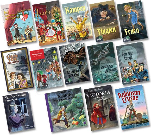 Børnebøger - Ungdomsbøger illustreret af Sussi Bech
