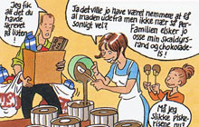 Ginsana tegneserie : Sussis hverdag