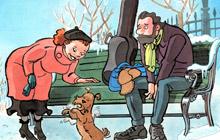 Illustrationer til børnebogen Jul med Jensen og Gogæng