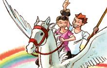 illustrationer til børnebog : Felix Fox og Monsterkisten