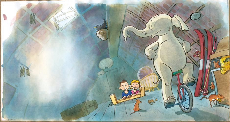 illustrationer til sangbøger mariehønen evigglad