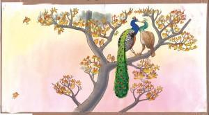 illustrationer til sangbog mariehønen evigglad