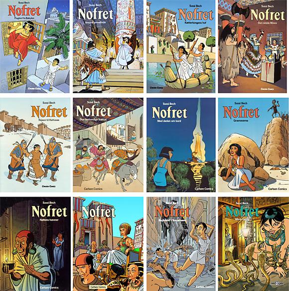 Tegneserier - Nofret bind 1-12