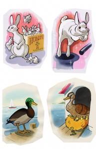 tegning-af-dyr-til-sorteper-spil
