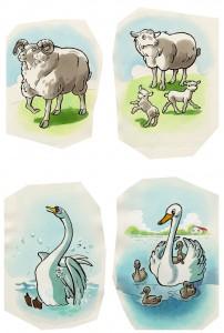 dyre-tegning-til-sorteper-spil