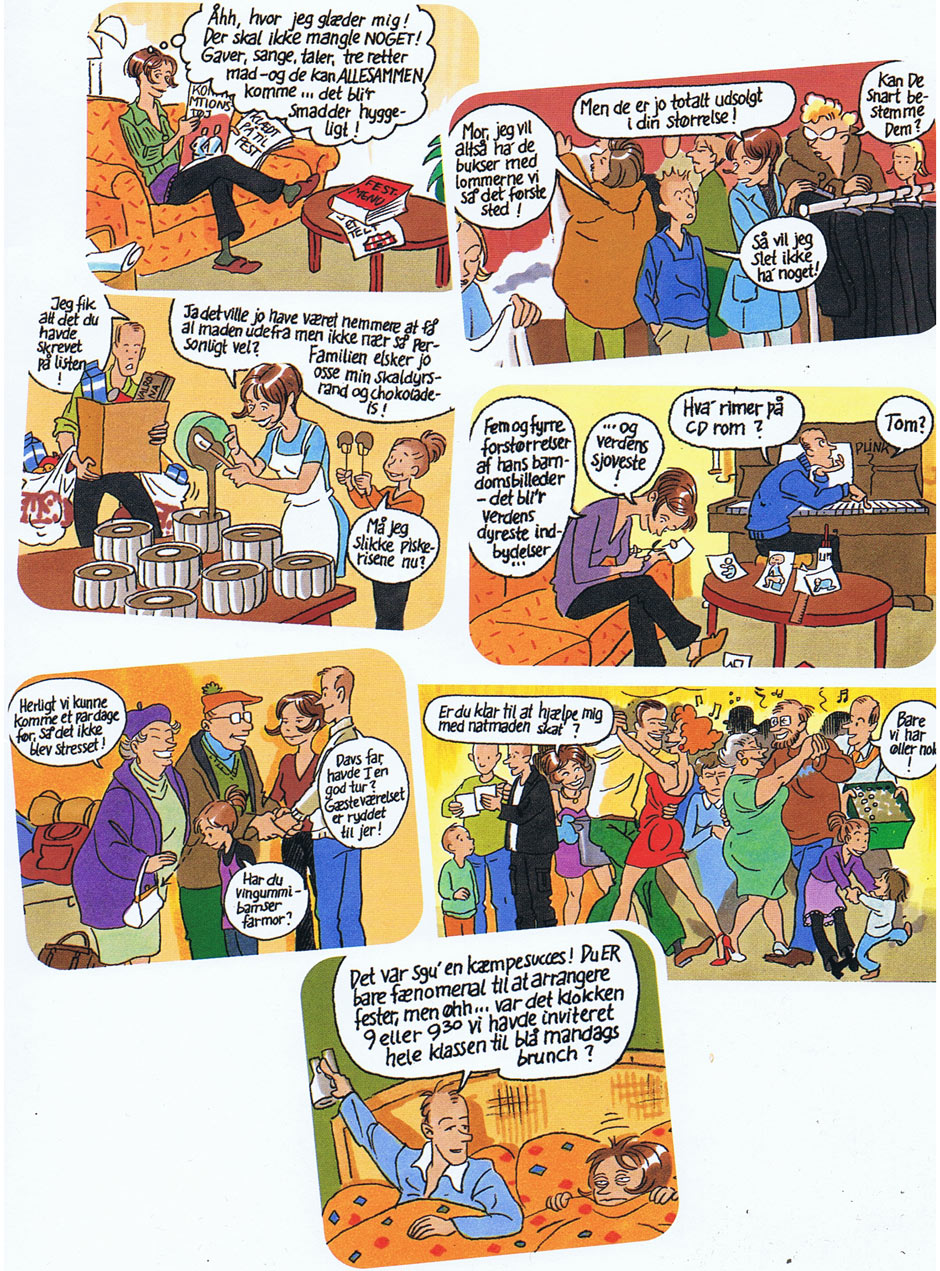 Ginsana tegneserie: Sussies hverdag