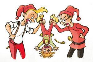 Jagten på Julemandens latter af Kenneth Bøgh Andersen og Sussi Bech