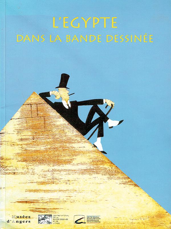 Kataloget fra L'Egypte dans la Bande Dessinée, 1998.