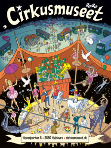 årsplakat cirkusmuseet 2020