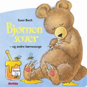 Bjørnen sover og andre sange af Sussi Bech Mariehønen Evigglad Har du set en krokodille sangbøger