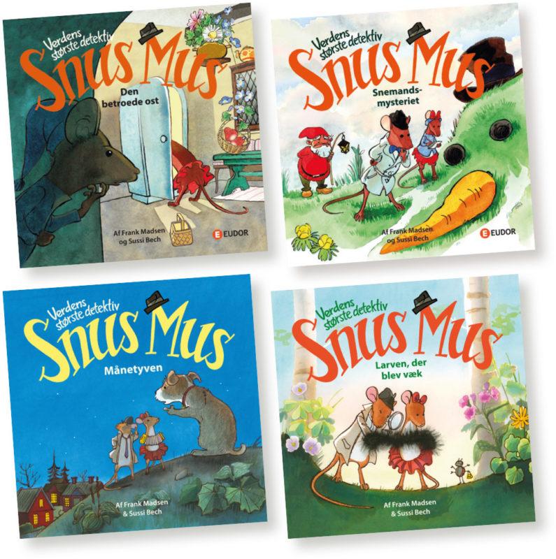 Snus Mus børnebog billedbog